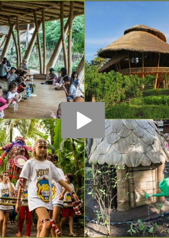 Ινδονησία:Ένα σχολείο στη ζούγκλα που εκπαιδεύει τα παιδιά του μέλλοντος για το καλό του πλανήτη μας