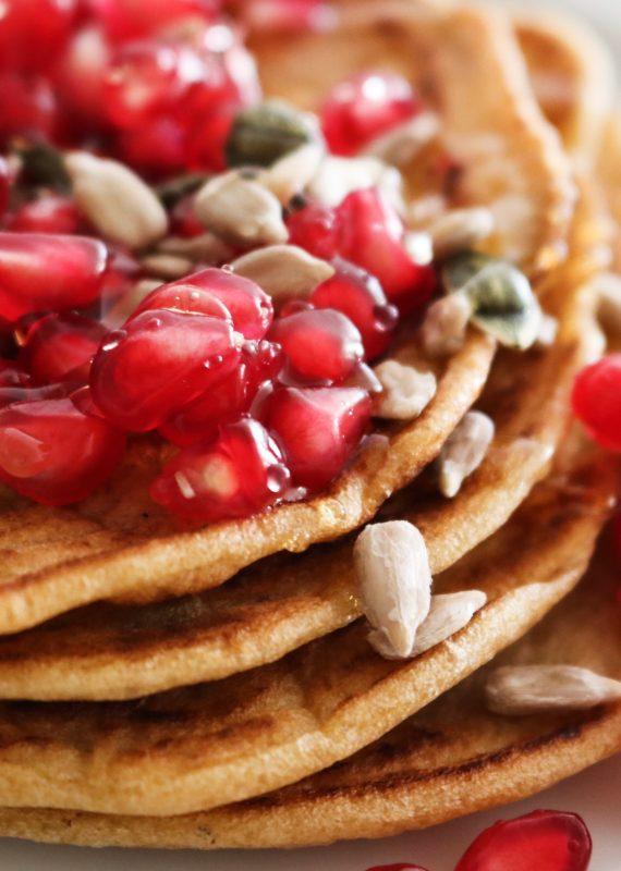 Pancakes χωρίς Γλουτένη|Συνταγή Mama Earth