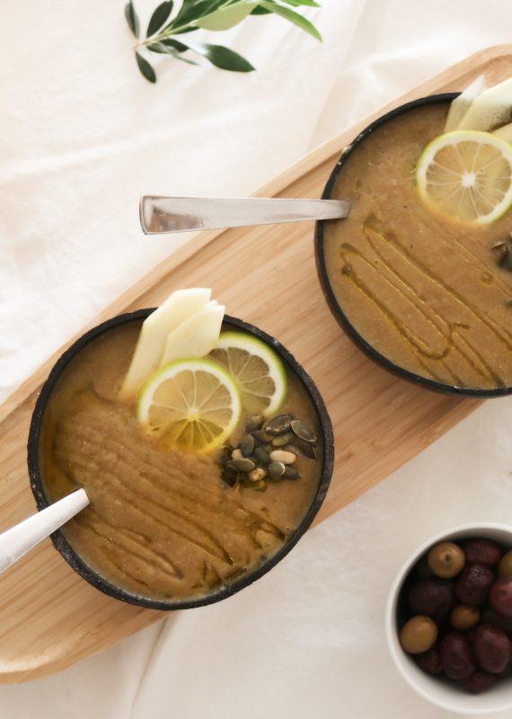 Σούπα από Φακές, Κολοκύθα και Ginger | Mama Earth